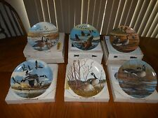Collectible Plates - Wings Upon The Wind-Donald Penz-Six Plates