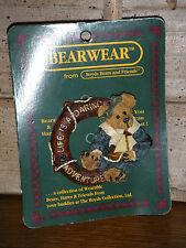 Boyds Bears 1998 ~Bailey.Life Is A Adventure~ Bearwear Pin Style# 26106