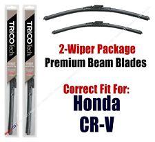 2012+ Honda CRV CR-V Wipers 2-Pack Premium Beam Blade Wipers - 19260/19160