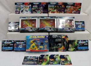 Star Wars Lot of 19: Micro Machines, Playskool, Dagobah, Hoth, Endor & More NR