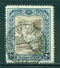 BRITISH GUIANA 153 SG217 Used 1898 2c QVIC 60th Anniv Kaieteur Falls Cat$5