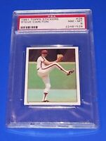 1981 Topps Baseball Steve Carlton Sticker #28 PSA 8 NM Philadelphia Phillies MLB