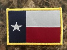 "BuckUp Tactical Morale Patch Hook Texas Lonestar State Full Color 3x2"" Patch"