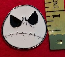 The Nightmare Before Christmas Jack Skellington Frown Face Pin Disney Trading