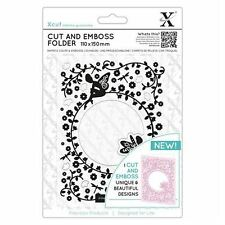 Xcut Cut & Emboss Scrapbook Paper Craft Folder (110x150mm) - Flower Fairies