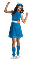 GIrls Cookie Monster Sesame Street Halloween Costumes