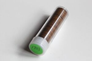 1933 P Lincoln Cent Roll Very Good or better  50 coins Wheat