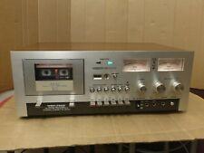Vintage Akai GXC-730D Stereo Cassette Tape Deck Multi Voltage w Bonus