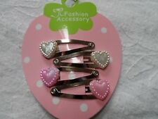 summer mini hair clips,girls hair clips slides snap clips hearts baby hair