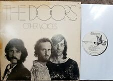 THE DOORS,Other Voices,Vinyl LP,1971,White Label Promo pressing,Elektra 75017
