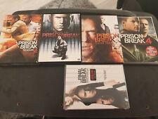 Prison Break Season 1 + 2 + 3 + 4 + The Final Break [DVD] ENGLISCH Region 1