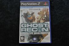 Tom Clancy's Ghost Recon Advanced Warfighter Playstation 2 PS2 Geen Manual