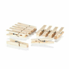 Wooden Clothes Pegs Rust Resistant - 36 Pack