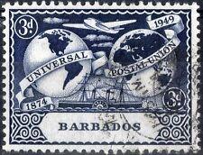 Barbados.  1949.  75th Anniversary of UPU.  SG268.    Used.