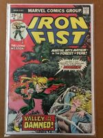 """Iron Fist 2 --(VF condition)-- Marvel Comics Group """"Valley of the Damned"""""""