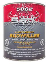 Lightweight auto body shop filler 5 star 5062 restoration car paint supplies