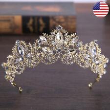 Crystal Princess Tiaras Wedding Crown Bride Tiara Coronet Diadem Hair Accessory