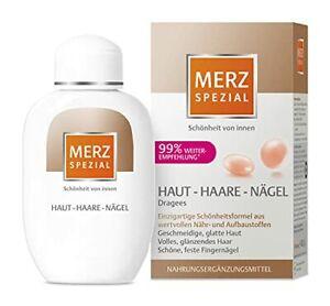 Merz Spezial Dragees Haut Haare Nägel - Nahrungsergänzungsmittel für geschmei...