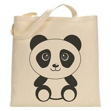 Panda - Tote Bag - Funny Shopping Bag - Birthday Xmas Gift - Cute Reusable