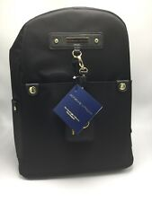 20bed2fba45 Adrienne Vittadini Large Black Nylon Backpack With Buckle Strap NWT  178.00