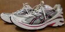 Asics Gel GT 2140 Womens Sz 10 Silver Purple Pink White Running Training Shoes