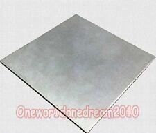 Titanium Ti Grade 2 Gr.2 GR2 ASTM B265 Plate Sheet 1mm x 150mm x 300mm 6