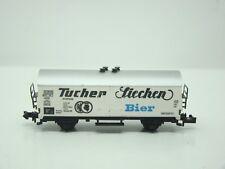 """TRIX - ECHELLE N - WAGON FRIGORIFIQUE """" TUCHER LIECHEN BIER """" - 1/160 -"""