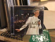 Concerto: 1 Night In Central Park [CD/DVD] by Andrea Bocelli. - L.N - Free shipp
