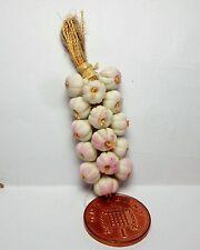 1:12th Dollhouse Miniatures Food, String Of Garlic