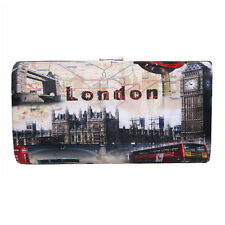 CITY OF LONDON MAGAZINE COVER FASHION CLUTCH PURSE HANDBAG
