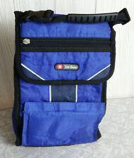 Ice Gear - Blue Lunch Bag Box w/ Garage Compartment, Main Compartment & Zipper