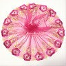 Flower Embroidery Lace Trim Tulle Floral Applique Wedding Fabric Doll Sewing DIY