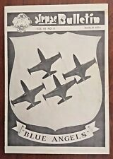 KOREAN WAR Navy Air Force Pacific Fleet AIRPAC Bulletin 1953 US Navy Blue Angles