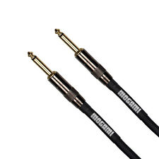"Mogami Platinum Guitar Bass Keyboard Instrument Cable1/4"" TS Straight 3 ft"