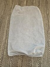 Pottery Barn Kids Fleece Light Gray Chamois Changing Table Pad Cover