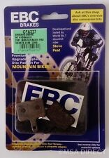 Shimano Nexave (BR M465 BR-C501/601) EBC Resin Mountain Bike Brake Pads (CFA327)