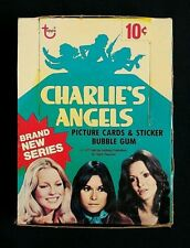 1977 Topps Charlie's Angels Series 4 Trading Cards Box ~ 36 Sealed Wax Packs