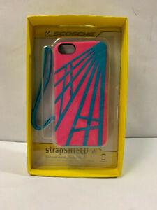 Scosche Protective Iphone 4 Case w/ Wrist Strap IP5SP KickBack Sport StrapShield