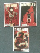 Red Wolf #1-3 Marvel Comics 2016 Full Run! VF-NM 8.0-9.0 or Better!