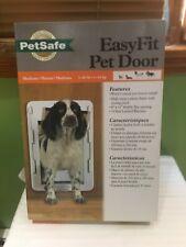 """New Petsafe Easy Fit Pet Door Dog & Cat 1-40 lbs 8"""" x 11"""" Flexible Flap Opening"""