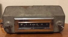 Vintage OEM Factory 1956 Chevy AM Radio Original Chevrolet Stereo 12 Volts