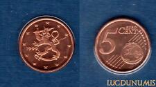 Finlandia 1999 5 céntimos BU FDC de euro bajo sello proveniente caja- Finlandia