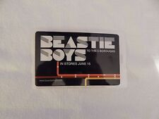 "Beastie Boys ""To The 5 Boroughs"" Promo Only Store Lanyard! New! Only One On eBay"