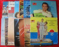 LP Sammlung PETER ALEXANDER 13 LP's - Vinyl Schallplatten Konvolut
