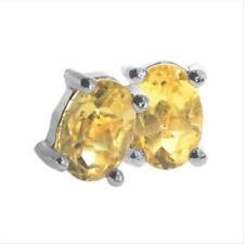 Citrine Yellow Fine Earrings