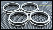 4PC ALUMINUM HUB CENTRIC RINGS 64.1MM CAR HUB TO 73MM WHEEL BORE FITS HONDA