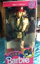 Barbie Army1992 Stars' Stripes Special Ed 101 Airborne Div Desert Storm NOS/NRFB