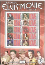Bc-034 Gb 2004 Elvis Movie Collection (1956-1961) - Smiler sheet Unmounted Mint