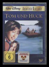 DVD WALT DISNEY - TOM UND HUCK (Tom Sawyer und Huckleberry Finn) *** NEU ***