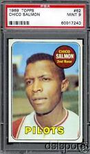 1969 Topps # 62 Chico Salmon PSA 9 Mint